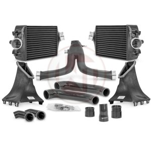 Comp. Package Porsche 991 Turbo(S) Intercooler Kit / Y-charge pipe Porsche Porsche 991 Porsche 991 Turbo 700001099.991.2 wagner wagnertuning mondotuning mtelaborazioni The competition package for the Porsche 991 consists the Intercooler Upgrade Kit and the Y-Charge Pipe kit. It¶ïs suitable for the following vehicles.Porsche 991.1 911Turbo 383KW/520PSPorsche 991.1 911Turbo S 412KW/560PSPorsche 991.2 911Turbo 397KW/540PSPorsche 991.2 911Turbo S 427KW/580PSPorsche 991.2 911Turbo S Exclusive 446KW/607PSthe intercooler upgrade kit 200001099The Wagner Tuning Porsche 991 911 Turbo (S) Intercooler Kit has the following core size (2 x [320mm x 238mm x 110mm] = 16