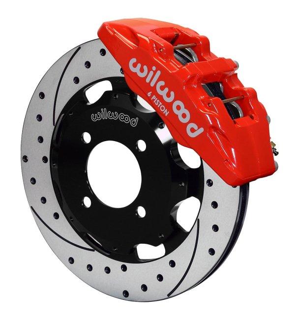 impianto maggiorato anteriore freni pinza 6 pot pompanti ford fiesta st mk7 mk8 ecoboost wilwood dischi sportivi compositi pastiglie italia mtelaborazioni rivenditore