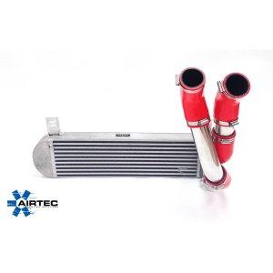 ATINTP&C3 intercooler maggiorato frontale girotubi maggiorati alluminio manicotti silicone citroen ds3 diesel mtelaborazioni stage 1 maggiorato