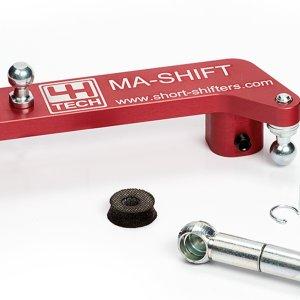 Short Shifter - 4H Tech - quick shift leva cambio accorciata mtelaborazioni Peugeot 2008 1.2 VTi engine MA-Shift