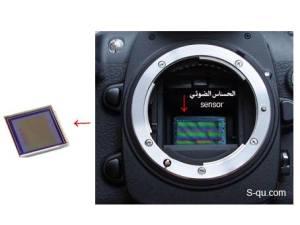 الحساس الضوئى فى الكاميرا سنسور sensor