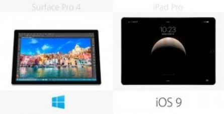 مقارنة بين اللوحين ايباد برو وسيرفيس برو - نظام التشغيل