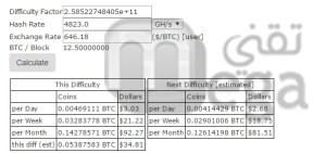 bitcoin calculate