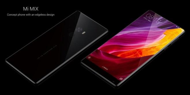 Xiaomi تقدم هاتف Mi Mix الفريد باللون الأبيض