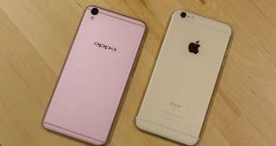 Oppor9-vs-iphone