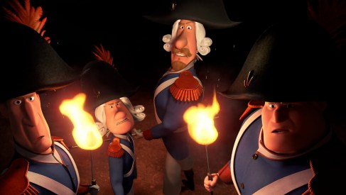 French Revolution character & facial hair system