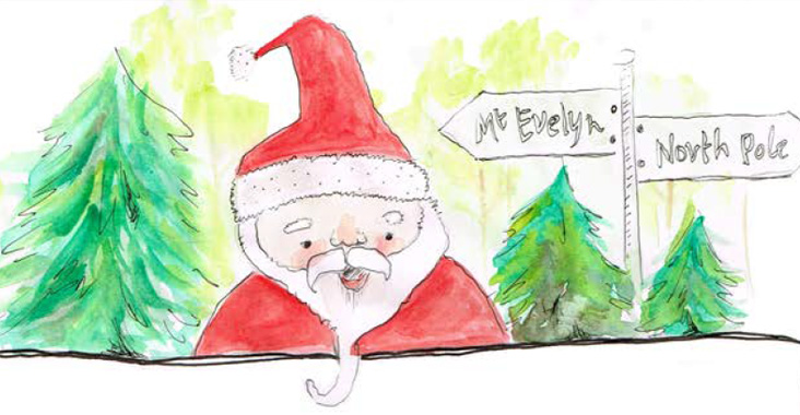 Christmas in Mt Evelyn