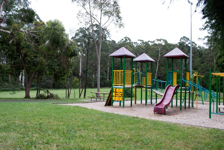 Playground at Mt Evelyn Recreation Reserve