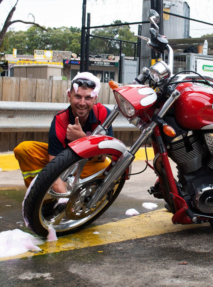 CFA Bike Wash