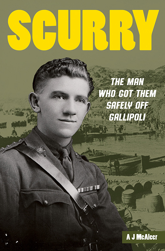 Scurry book cover