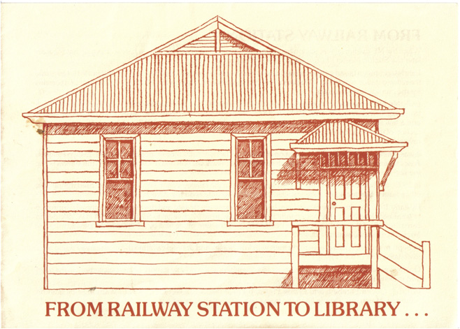 Railway station to Library
