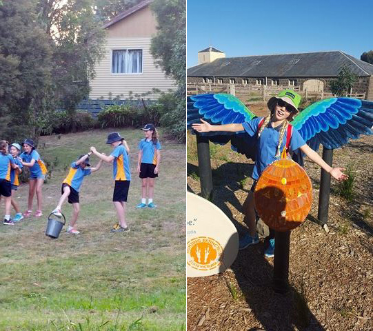Girl Guides, team work and being yourself