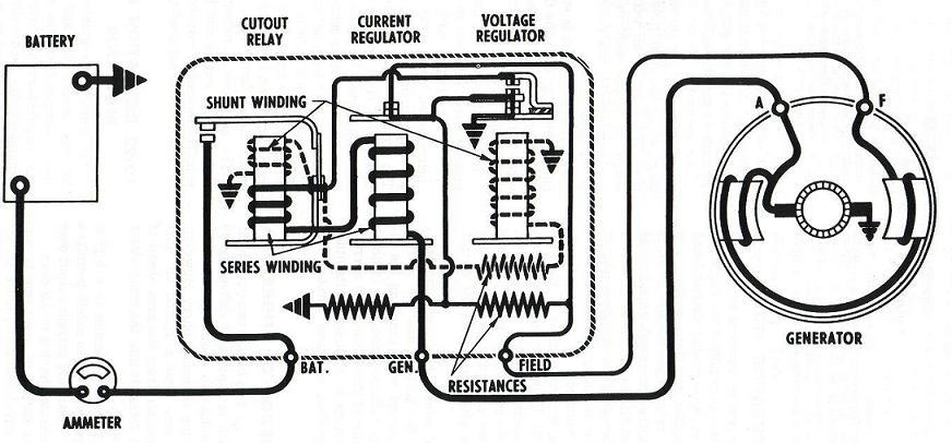 1953 chevy truck wiring diagram simple leaf cross section model t ford forum: can you use a 1942 6 volt voltage regulator on your generator