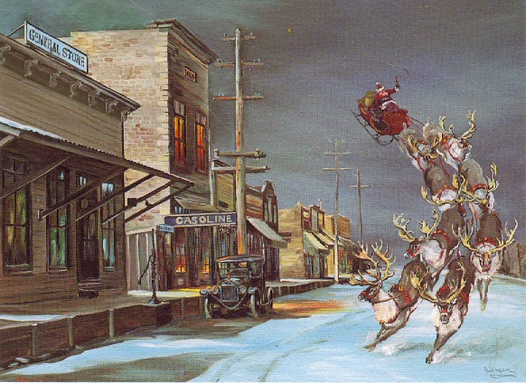 Model T Ford Forum Model T Christmas Card Of The Day 12