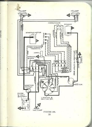 Model T Ford Forum: Can you read the wiring diagram?