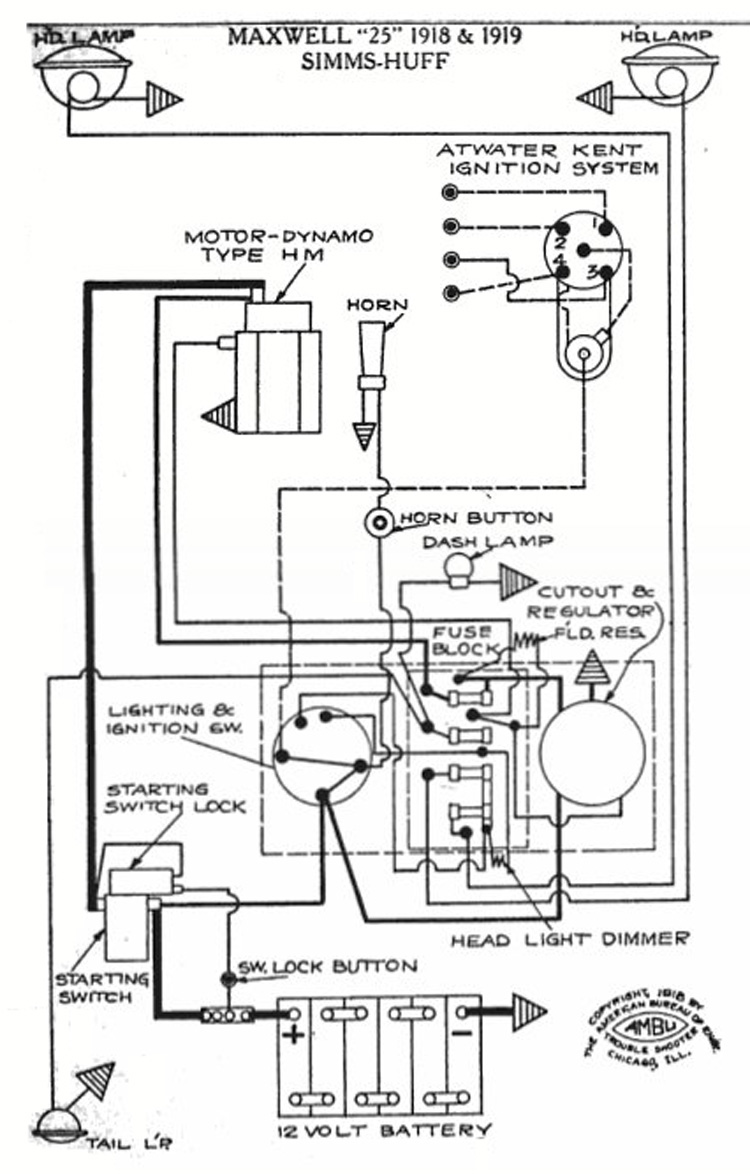 Model T Ford Forum: OT, tell a 6 volt accessory from 12 volt