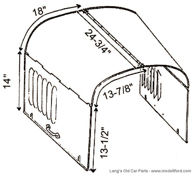 Model T Ford Forum: Hood Question