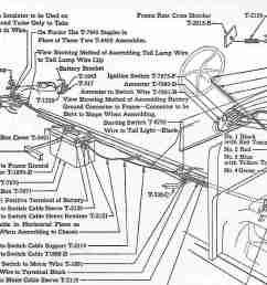 model t ford forum tail light wire routing wiring up model t source wiring diagram for  [ 1024 x 831 Pixel ]