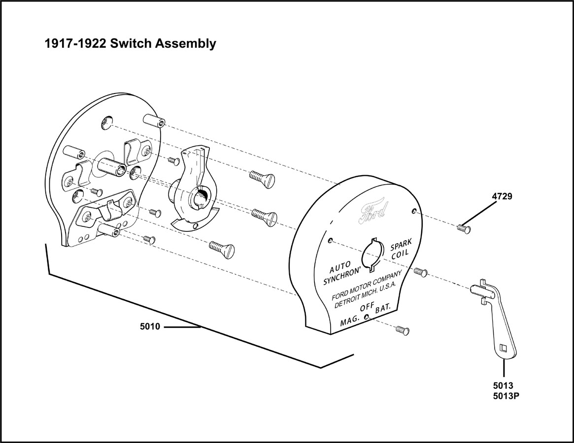 Model T Ford Forum: 1914-1916 Switch Assembly...