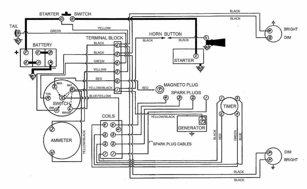 medium resolution of wiring diagram for model a ford