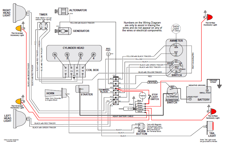 model t wiring diagram car radio ford forum anyone have detailed colored diagrams