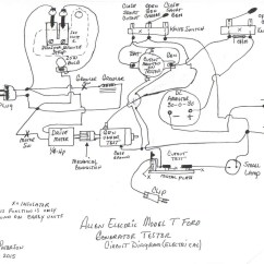 Model A Ford Wiring Diagram Triumph Tr6 Dash T Forum Allen Electric Generator Tester