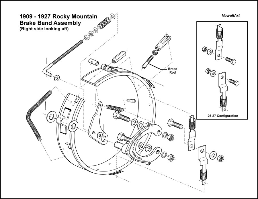 Model T Ford Forum: **Rocky Mountain Brake Assembly**