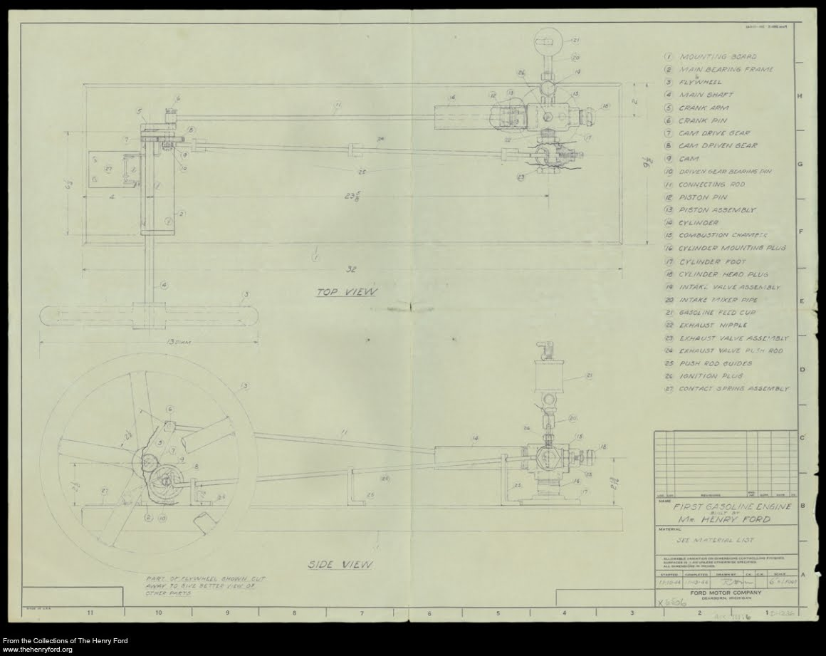 hight resolution of model t ford forum plans for henry s first engine first engine diagram