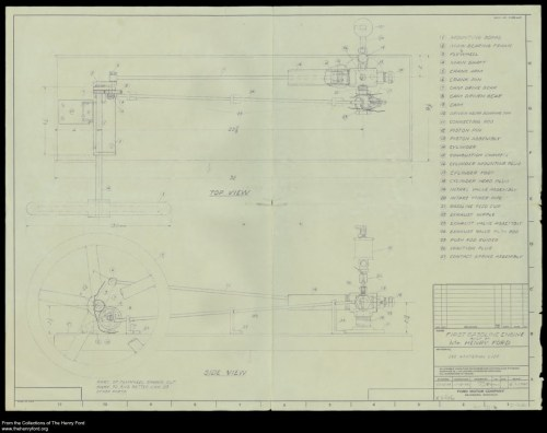 small resolution of model t ford forum plans for henry s first engine first engine diagram