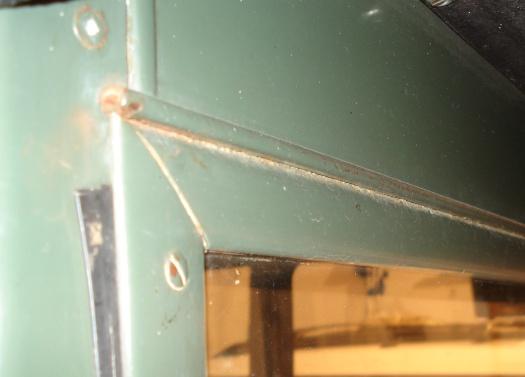 Model T Ford Forum Windscreen hinge on 19267 tudor