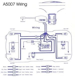 Model T Ford Forum: Wiring diagram turn signal