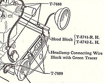 Model T Ford Forum: Wire clips or holders 26/7 roadster pickup