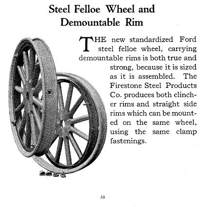 Model T Ford Forum: Demountable rims for 23