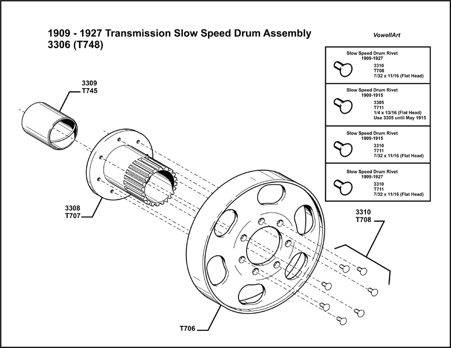 Model T Ford Forum: ***1909-1927 Transmission Slow Speed