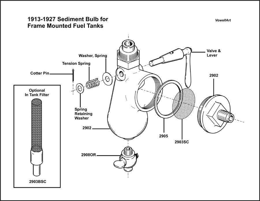 Model T Ford Forum: ***1912 & 1913-1927 Sediment Bulb for