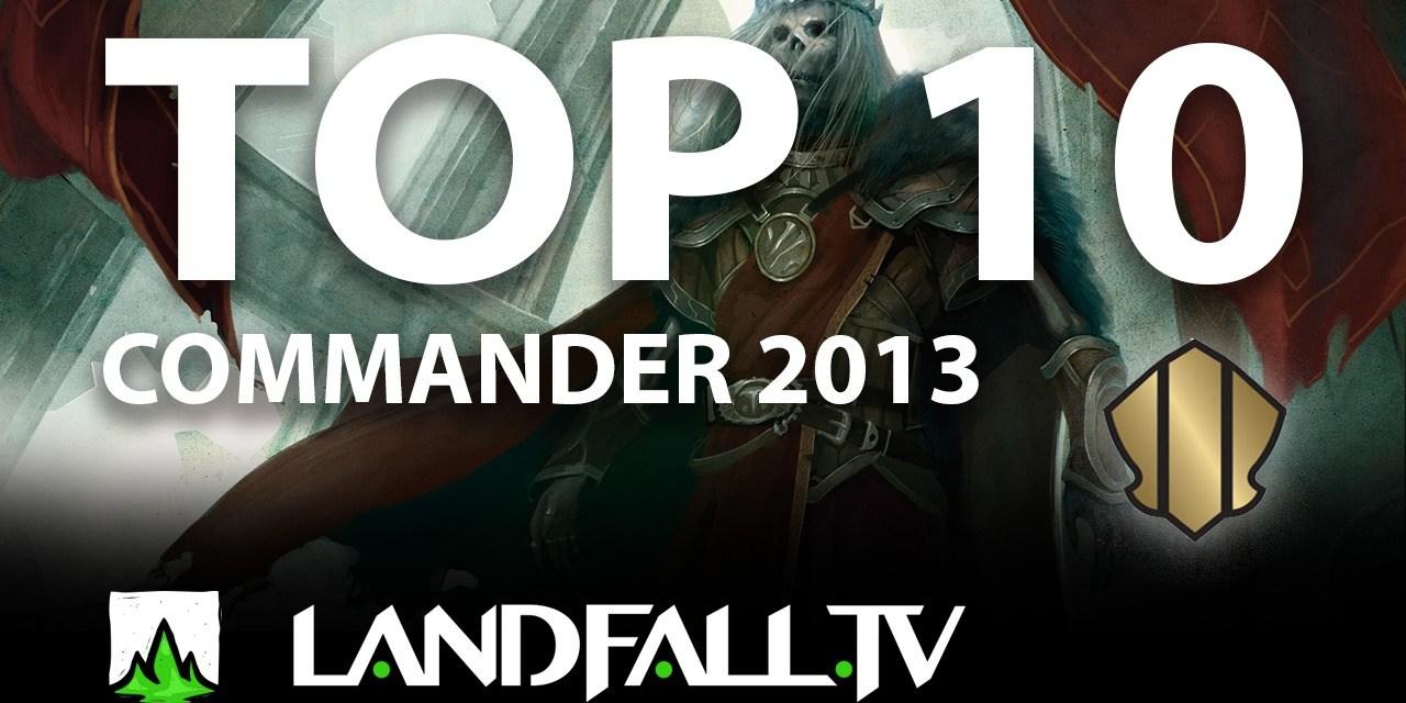 Protegido: Top 10 cartas más usadas Commander 2013   EDH   Landfall TV#58   Commander en Español