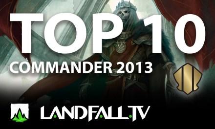 Protegido: Top 10 cartas más usadas Commander 2013 | EDH | Landfall TV#58 | Commander en Español