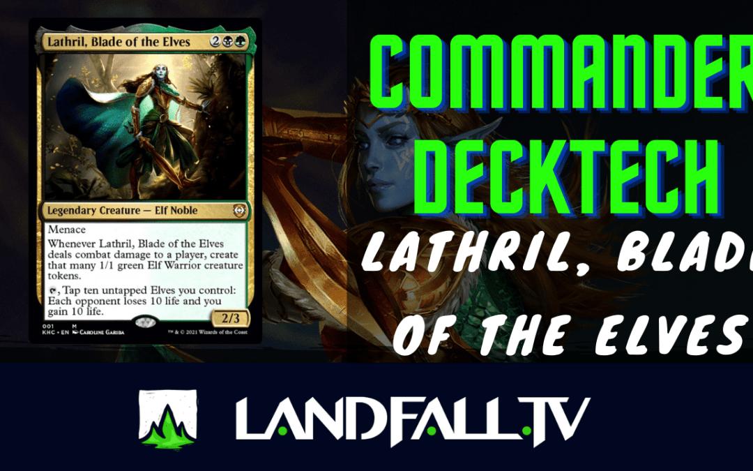 Protegido: Decktech Lathril Elfball Stax Optimizado | EDH | Landfall TV#85 | Commander en Español