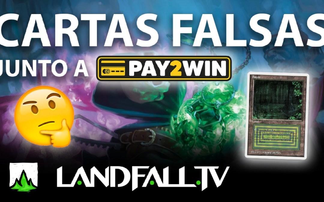 Protegido: Cómo identificar cartas falsas ft. Pay2Win | Landfall TV #83 | Commander en español | MTG