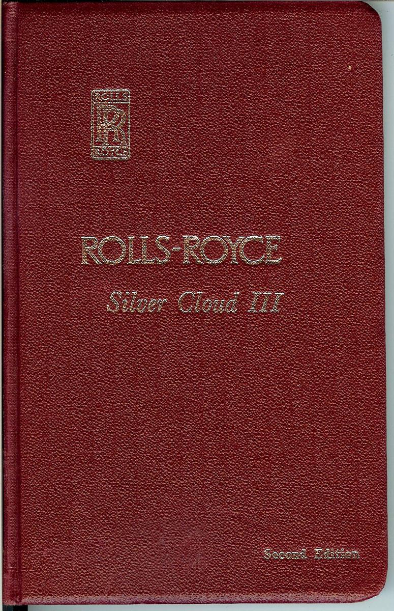 medium resolution of original 1964 rolls royce silver cloud iii owner s manual rolls royce limited derby crewe and conduit street london w 1 great britain