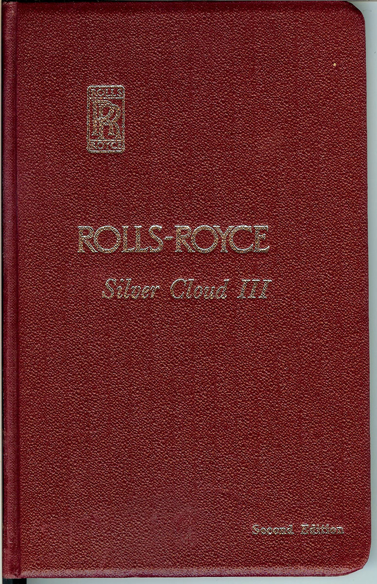 hight resolution of original 1964 rolls royce silver cloud iii owner s manual rolls royce limited derby crewe and conduit street london w 1 great britain