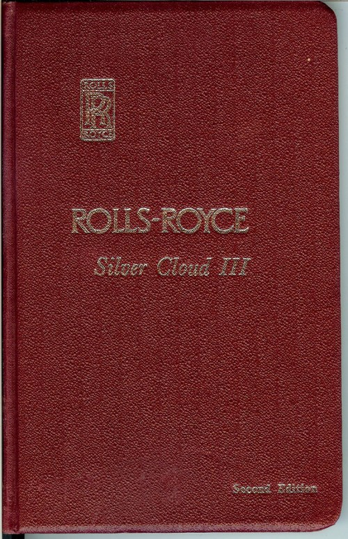 small resolution of original 1964 rolls royce silver cloud iii owner s manual rolls royce limited derby crewe and conduit street london w 1 great britain