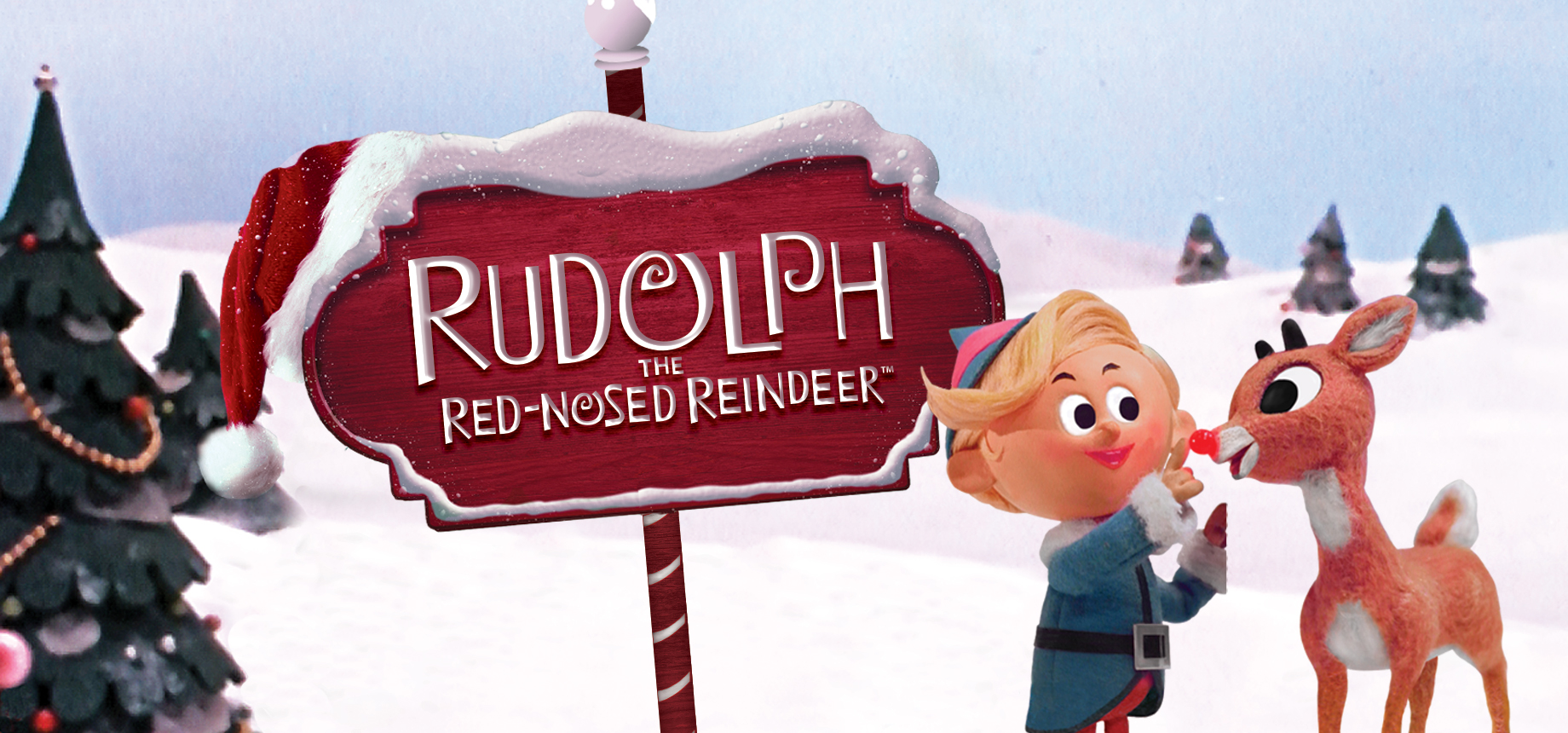 Rudolph The Red Nosed Reindeer Malvorlage