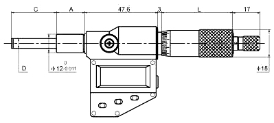 Digital Micrometer Head 1