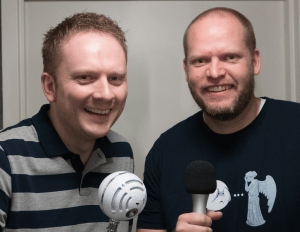Mic & Jake - hosts of RayWenderlich podcast