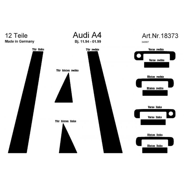 Décoration de montants des portes et fenêtres Audi A4
