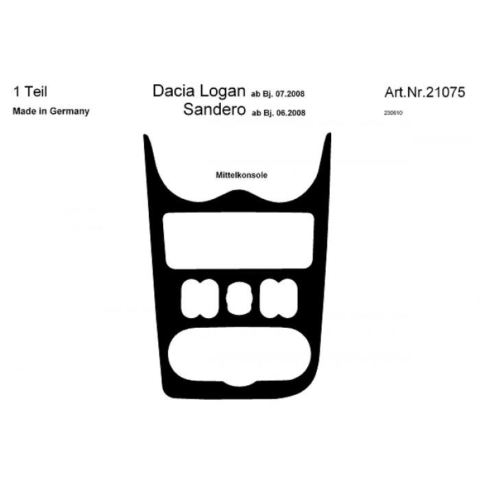Décoration de tableau de bord Dacia Logan