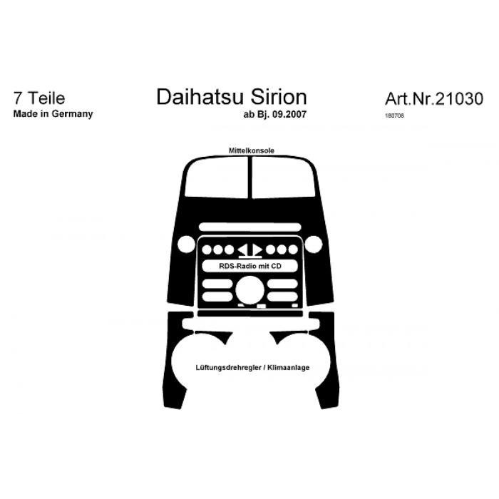 Décoration de tableau de bord Daihatsu Sirion