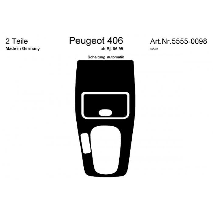 Décoration de tableau de bord Peugeot 406