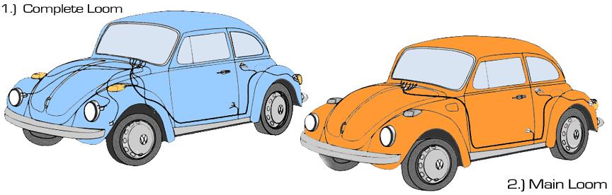 1967 Vw Wiring Harness Volkswagen Beetle Wiring Harnesses Vw